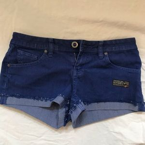 Volcolm Brand Jean Shorts